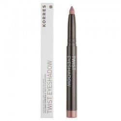 Korres Maquillage Ombre a paupieres Twist Black Volcanic Minerals 68 Golden pink