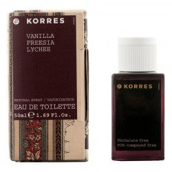 Korres Body Parfum Vanille freesia lychee 50ml