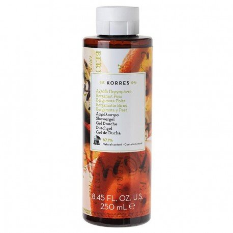 Korres Body Poire Bergamote Gel douche 250ml