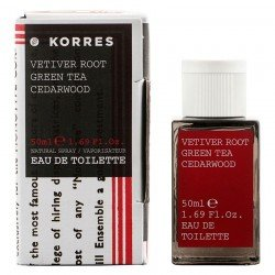 Korres Body Parfum Racine de vétiver Homme 50ml