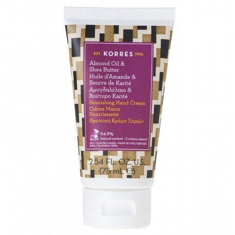 Korres body almond/sheabutter handcreme 75ml