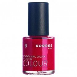 Korres Maquillage nail colour coral red 48