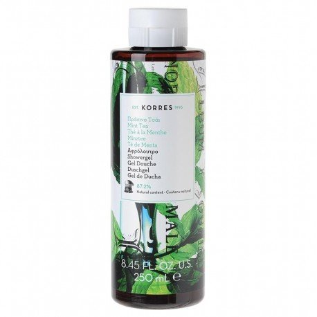 Korres body mint tea douchegel 250ml