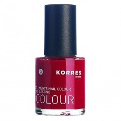 Korres km nail colour 53 pure red 10ml