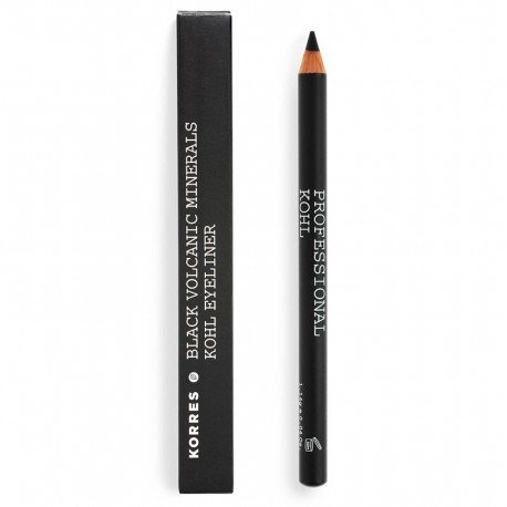 Korres km pencil kohl mineral black