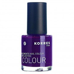 Korres Maquillage nail colour purple 27