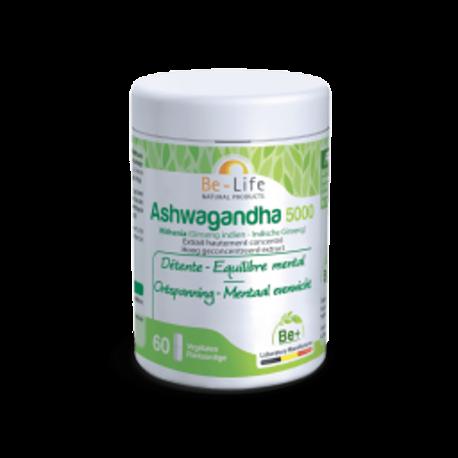 Be Life Ashwagandha 5000 BIO 60 gélules CEE
