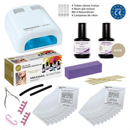 Meanail Kit Manucure Permanente Lampe UV