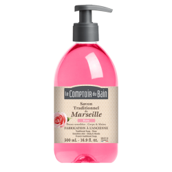Le comptoir du bain savon de marseille rose 500ml