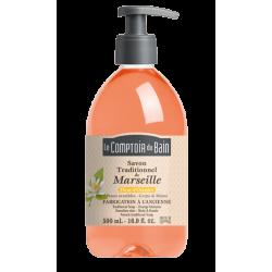 Le comptoir du bain savon de Marseille fleur d'oranger 500ml
