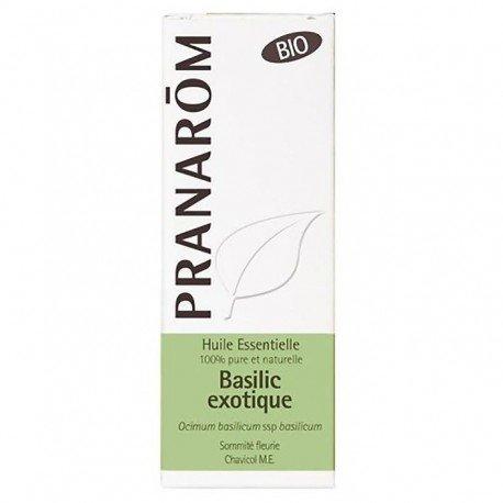 Pranarom Basilic Exotique Sommité Fleurie BIO 10ml