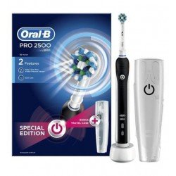 Oral B Brosse à dents électrique PRO 2500 CrossAction Black Limited Edition