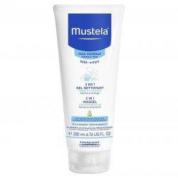 Mustela Bébé 2en1 gel nettoyant corps & cheveux Peau Normale 200ml