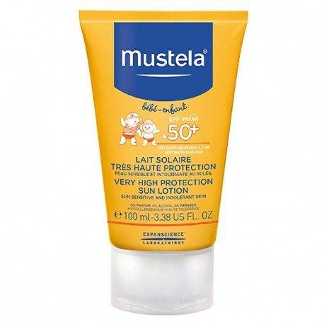 Mustela Solaire Lait Bébé très Haute Protection SPF 50+ 100ml