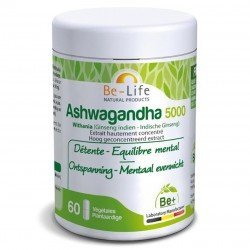 Be Life Ashwaganda 5000 60 gélules