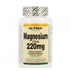 Altisa magnesium ctrat 220mg tr    comp 100