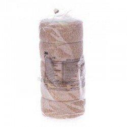 3m Coban bandage elastique skin rouleau 2,5cmx4,5m 5 rouleaux