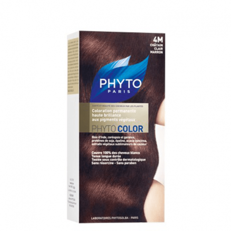 Phyto phytocolor 974 chatain clair marron