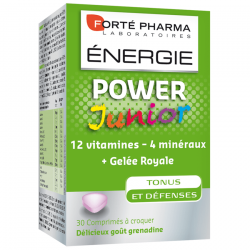 Forté pharma Energie power junior à croquer 30 comprimés