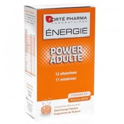 Forte Pharma Energie power adulte effervescents 30 comprimés