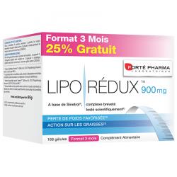 Forte Pharma Liporedux 900mg promopack 3 mois caps 168