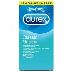 Durex Classic Natural 20 pcs