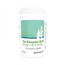Metagenics Co-enzyme Q10+vitamine E capsules 60 x 30mg
