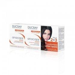 Ducray anacaps tri-activ 3x30 capsules cure de 3 mois