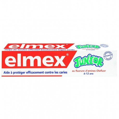 Elmex dentifrice junior (6-12 ans) 75ml