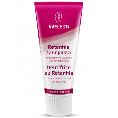 Weleda Ratanhia dentifrice rose 75ml
