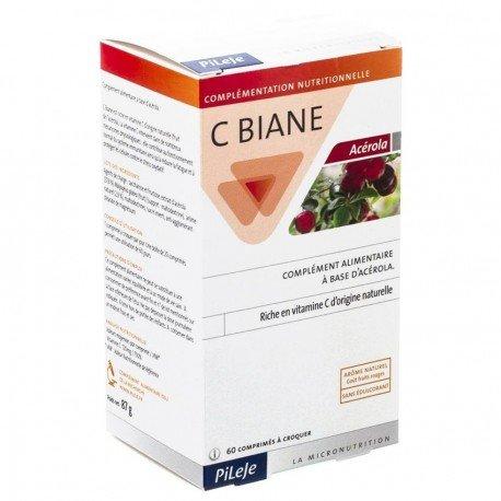 Pileje C Biane Acerola 60 comp