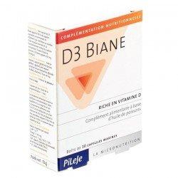Pileje D3 Biane 740mg 30 gélules