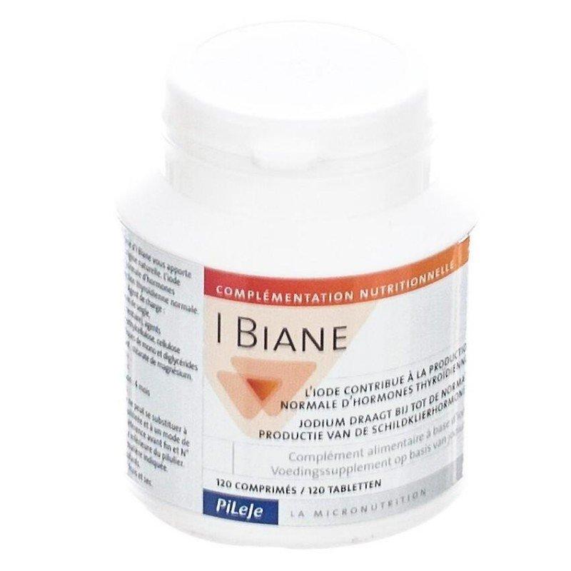 Pileje I Biane Iode Pour Troubles Thyroide 120 Comprimes