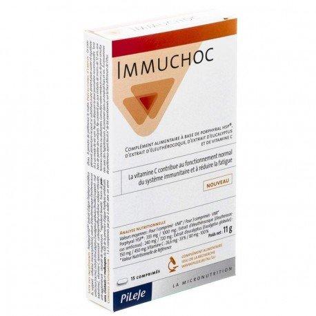 Pileje Immuchoc 15 comp