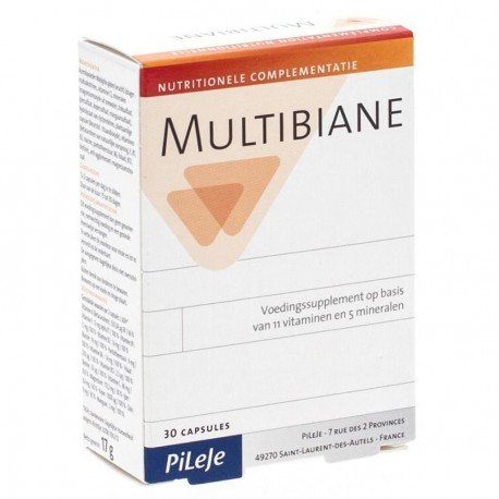 Pileje Multibiane 30 gélules x 586mg