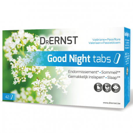 Tilman Dr Ernst Good Night valériane passiflore 42 comprimés