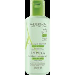Aderma Exomega Gel lavant corps et cheveux 200ml