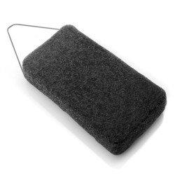DBS Eponge Konjac corps XL charbon de bambou - Peaux grasses et acnéiques
