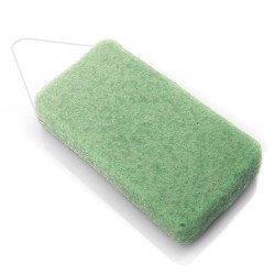 DBS Eponge Konjac corps XL argile verte - Peaux mixtes ou grasses