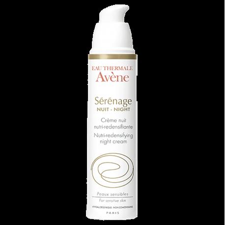 Avene Sérénage crème nuit nutri-redensifiante doseur 40ml