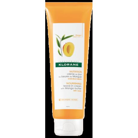 Klorane Creme de jour sans rinçage au beurre de mangue 125ml