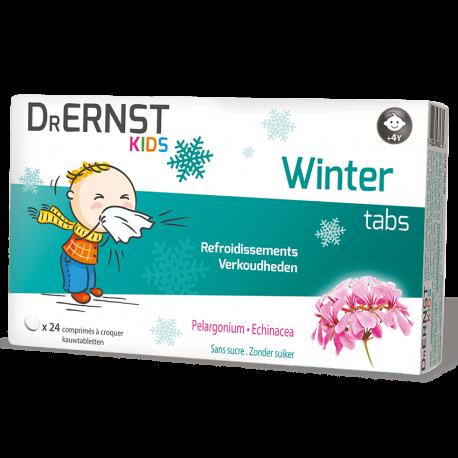 Dr Ernst Kids Winter 24 comprimés à croquer