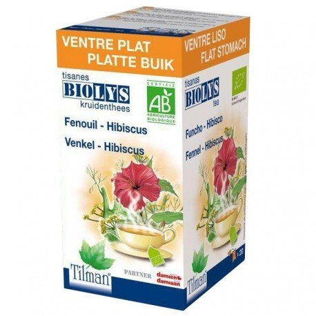 Biolys Fenouil-Hibiscus Infusion 20
