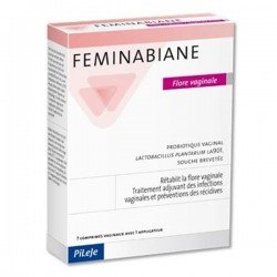 Pileje Feminabiane Flore Vaginale 7 comp