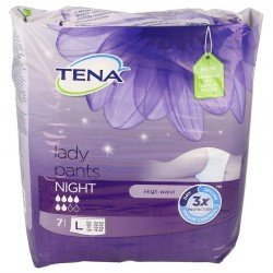 Tena Lady Pants Night Large 7 pièces