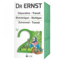 Tilman Dr Ernst Filt N°2 Tisane Dépurative et laxative 24 infusettes