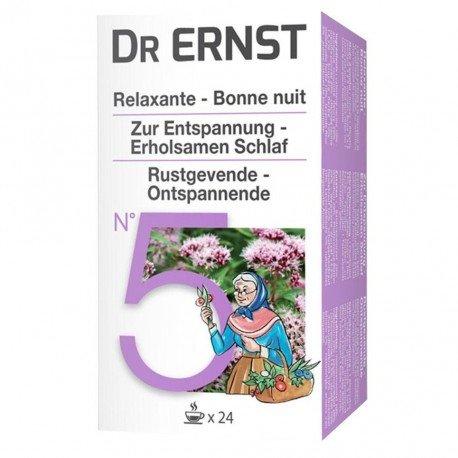 Dr Ernst Filt N°5 Tisane Calmante
