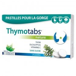 Tilman Thymotabs Nature Pastilles à sucer 24