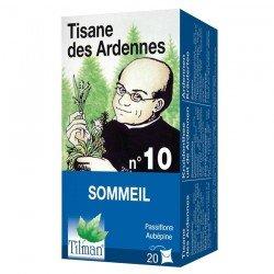 Tilman Dr Ernst filtre n°10 Tisane Ardennaise Insomnie