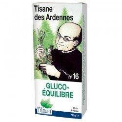 Tilman Dr Ernst filt n°16 Gluco-Équilibre Diabète Vrac 70gr